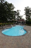 Pleasure Island Fiberglass Pool and Spa in Hagerstown, IN