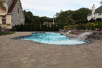 Pleasure Island Fiberglass Pool and Spa in Clifton Heights, PA